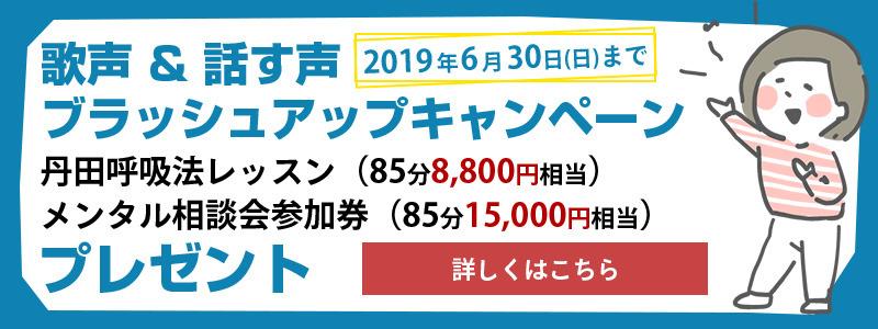 2019年5月キャンペーン
